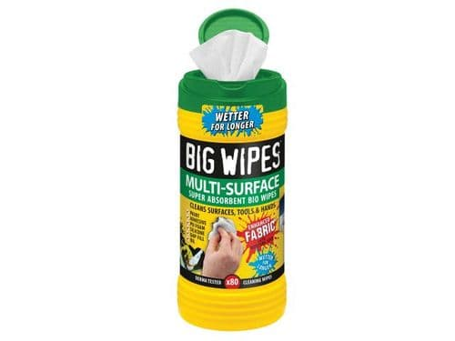 4x4 Multi-Surface Cleaning Wipes (Tub 80)