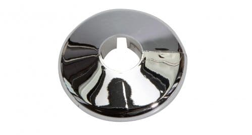 Chrome effect Pipe Collars Packs of 10