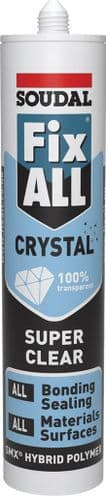 Crystal Clear SMX Sealant/ Adhesive