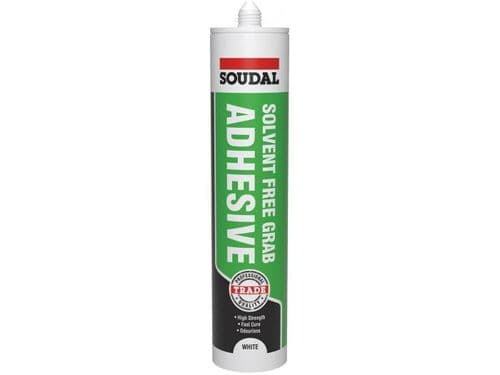 Grip All Solvent Free Adhesive White 300ML