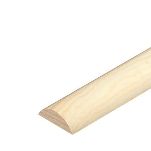 Half Round Pine Cover Moulding