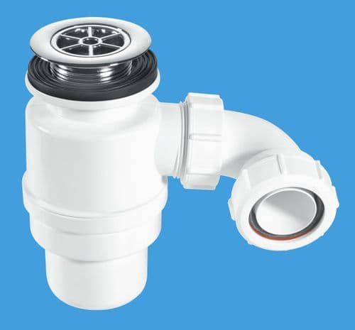 Shower Trap with Top Access 70MM Flange CP