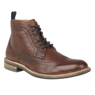 Lotus Aldridge Mens Brown Leather Boots