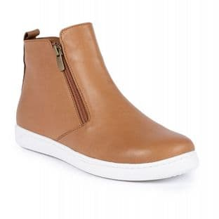 Lunar Womens Jayde Tan Leather Ankle Boot