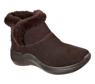 Skechers Womens 144250 CHOC Brown On-The-Go Joy Midtown Boots