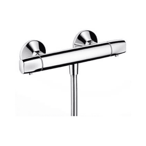Hansgrohe Ecostat E Thermostatic Controlled Static Exposed Shower Mixer - Model 13125000