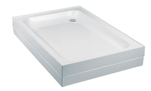 JT Breeze Ultra Lightweight Shower Tray -  1200 x 800 mm (14kg)