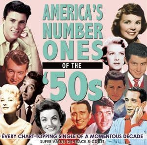 America's Number Ones Of The '50s (5CD)