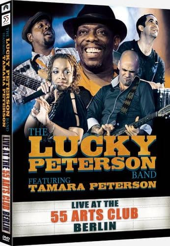 Lucky Peterson - Live at The 55 Arts Club Berlin (3DVD) (2CD)