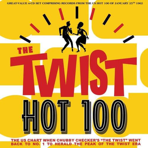 Various Artists - The Twist Hot 100 25th January 1962 (4CD)
