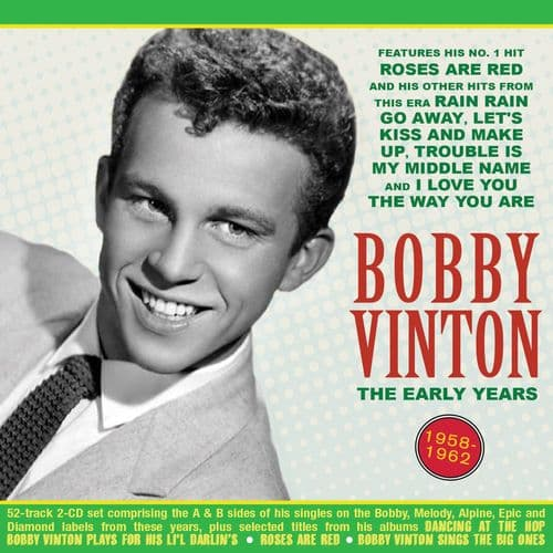 Bobby Vinton The Early Years 1958-62