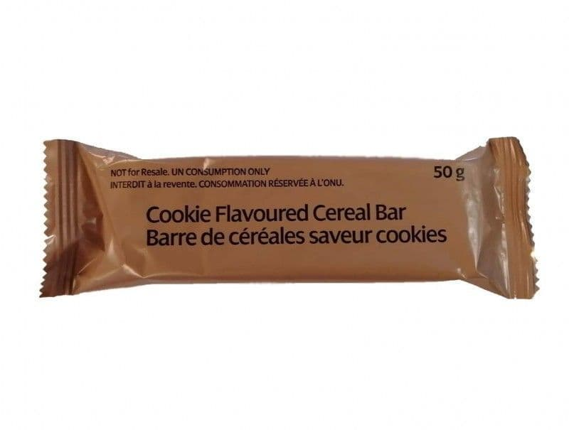 10 x British Military Ration Pack Energy Bar - 50g - Chocolate & Cookies
