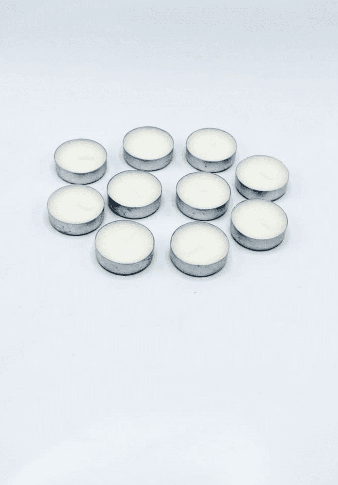 4 Hour Tea Light Candles- Pack Of 10