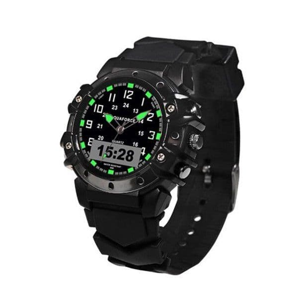 Aquaforce Combat Ana Digital Watch - Black