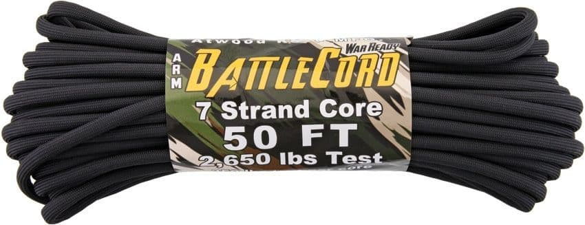 ARM BattleCord Paracord - 50ft (15m) 2650LB Breaking Strain
