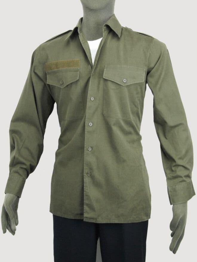 Austrian Military Lightweight Olive Green Shirt