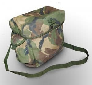 British DPM Respirator Bag
