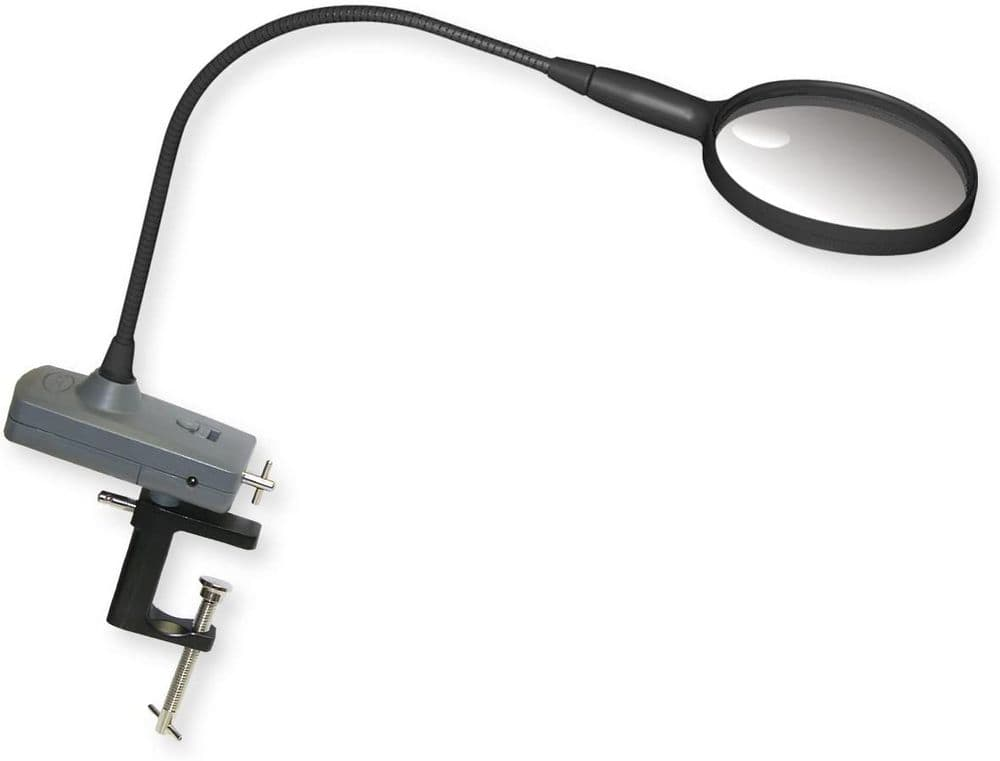 Carson MagniFly  Flexible Arm LED Lighted Hands Free Magnifier