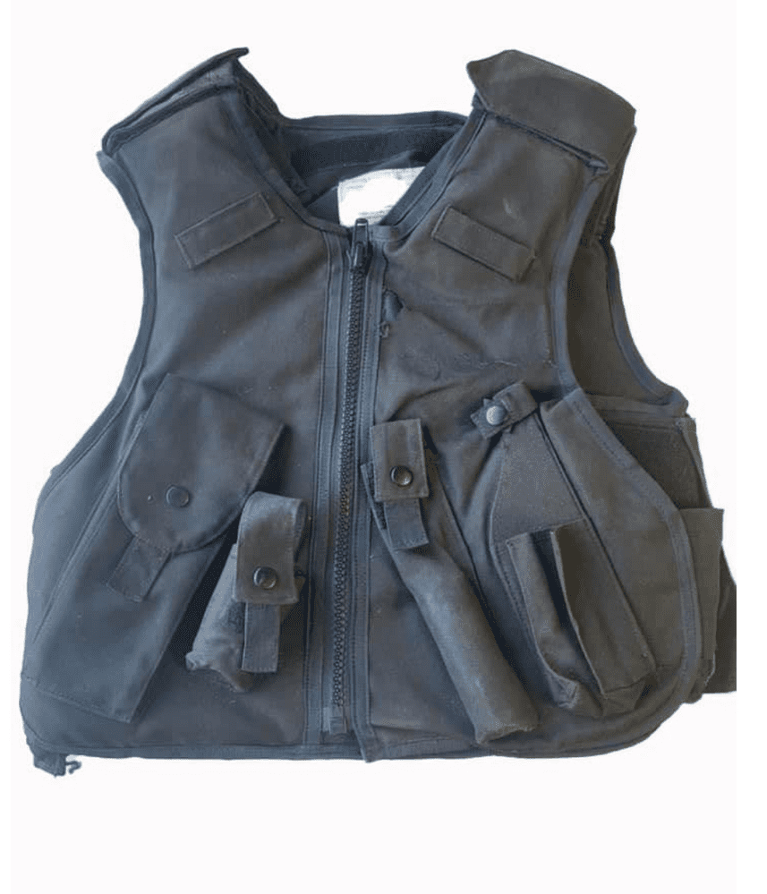 Ex Police Stab & Bullet Proof Vest With Attachments