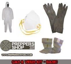Gas & Virus Emergency Kit - Basic