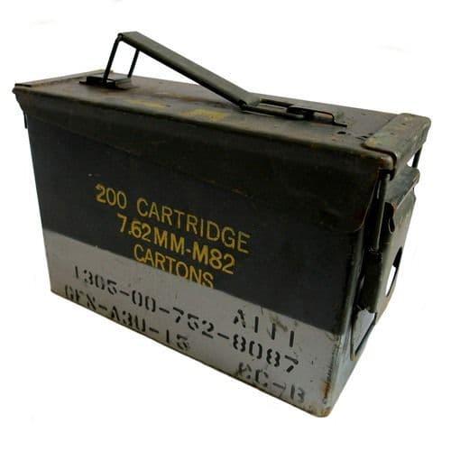 Genuine Ex Military 30 cal Ammunition Storage Box