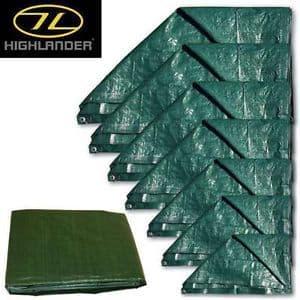 Highlander Ground Sheet - 7' x 5'