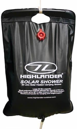 Highlander Solar Shower - 20 Litre