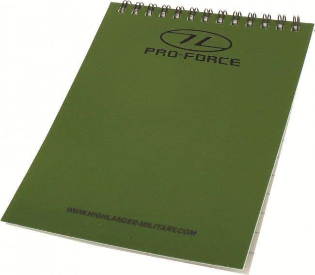 Highlander Waterproof Notepad