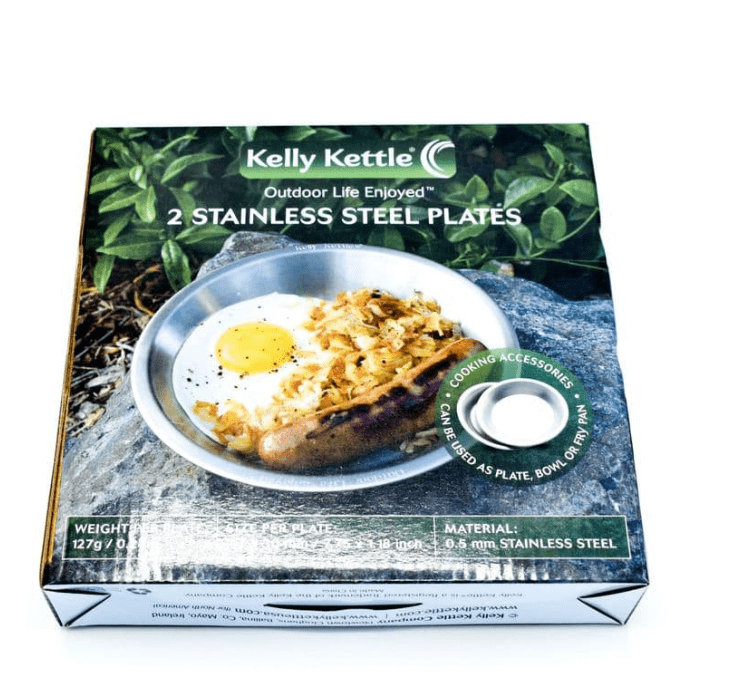 Kelly Kettle 2 x Stainless Steel Plates