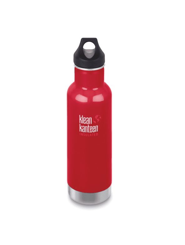 Klean Kanteen Insulated Classic Bottle W/ Loop Cap 592ml - Mineral Red