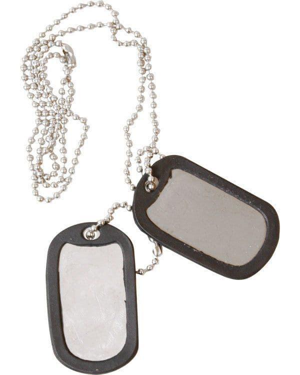 Kombat UK Dog Tags - Silver