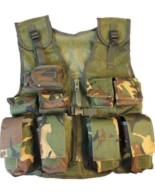 Kombat UK DPM Assault Vest - Kids