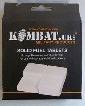 Kombat UK Hexi Solid Fuel Tablets x 8