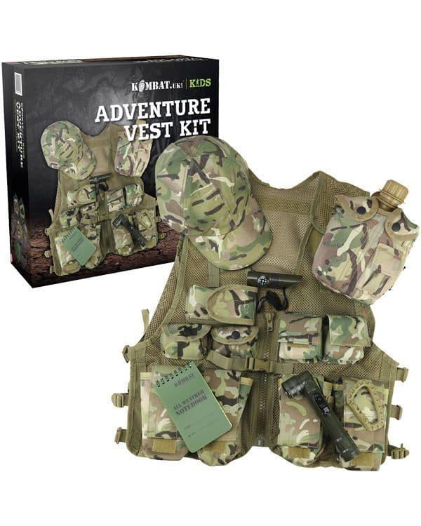 Kombat UK Kids Adventure Vest Set - BTP