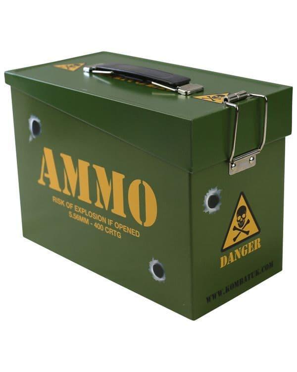 Kombat UK Kids Army Style Ammo Box
