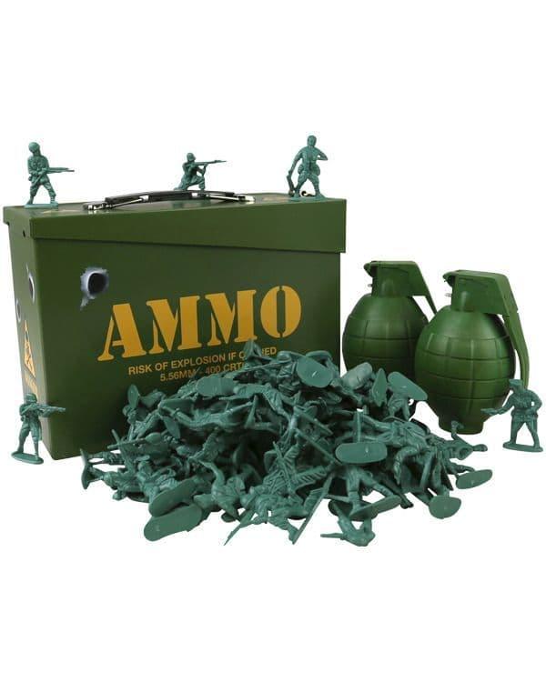 Kombat UK Kids Army Toy Soldier Play Set