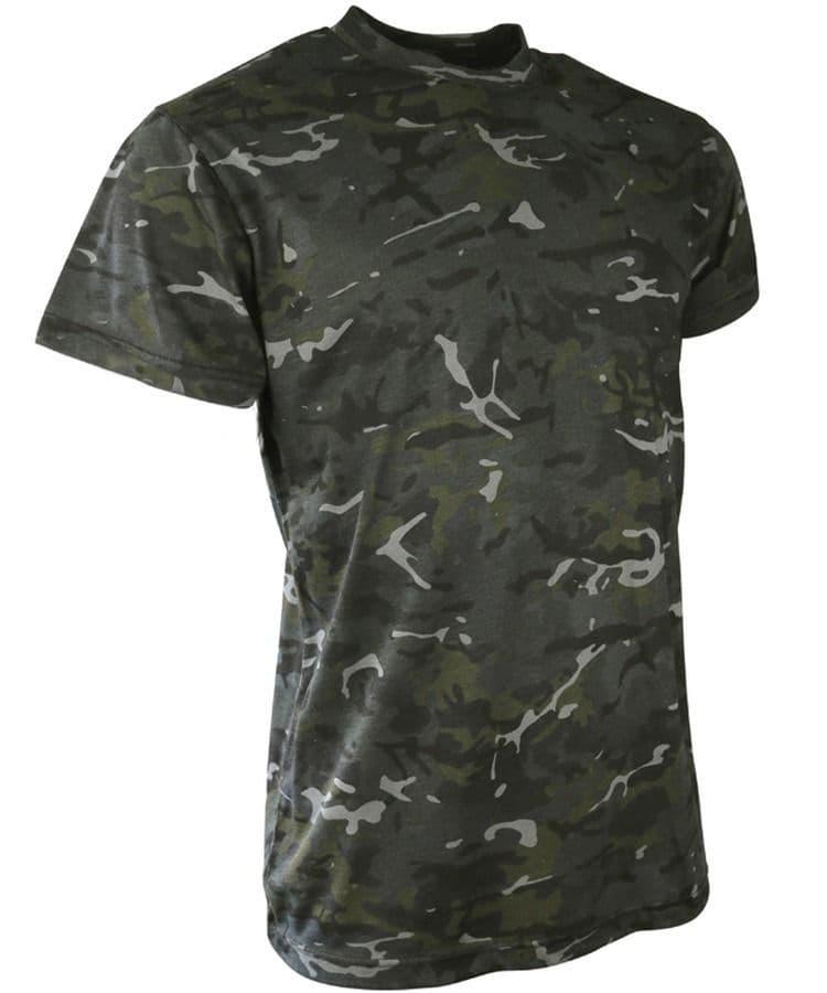 Kombat UK Kids BTP Black T-Shirt