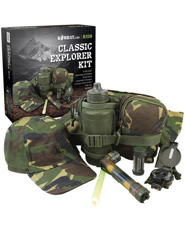 Kombat UK Kids Classic Explorer Kit - DPM
