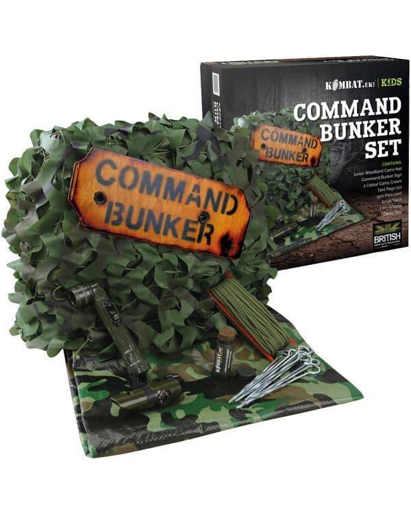 Kombat UK Kids Commander Bunker DPM Set