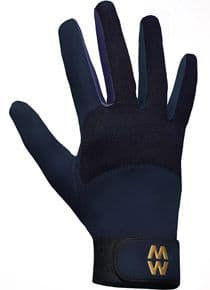 MacWet Long Mesh Sports Gloves - Navy