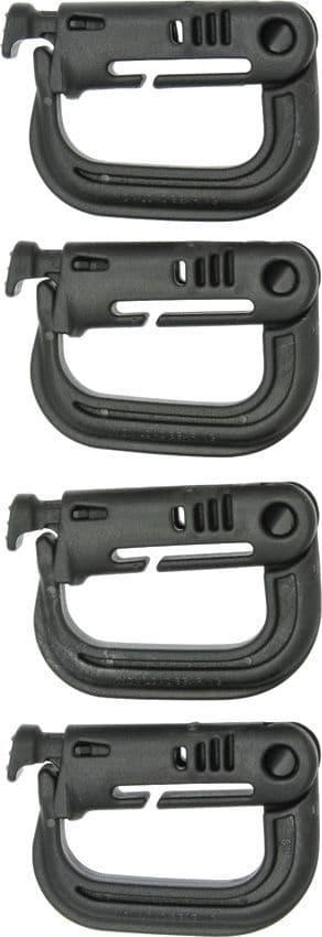 Maxpedition Grimloc Locking D-ring Carabiners - 4pk