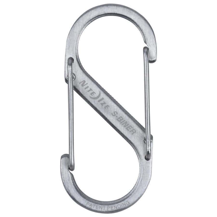Nite Ize Stainless Steel S-Biner Carabiner - Size 5