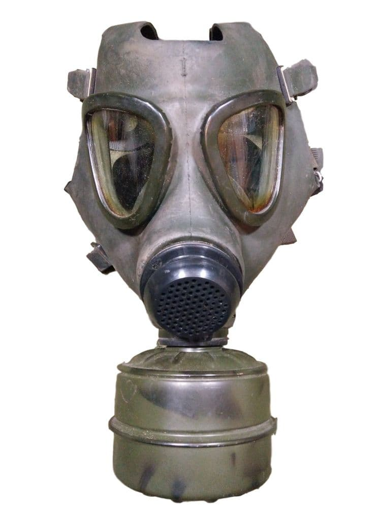 Romanian Military M74 Gas Mask With Filter & Bag