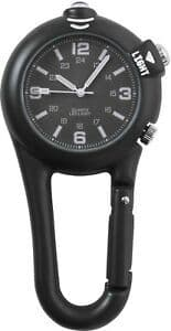 Rothco Clip Watch With LED Light - Black