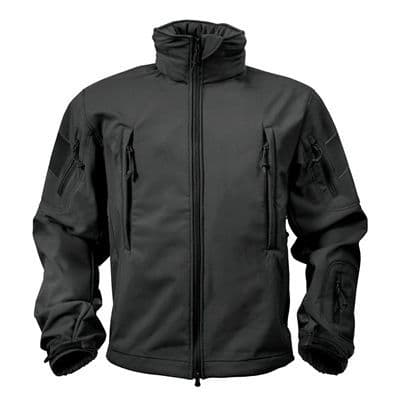 Rothco Special Ops Softshell Jacket - Black