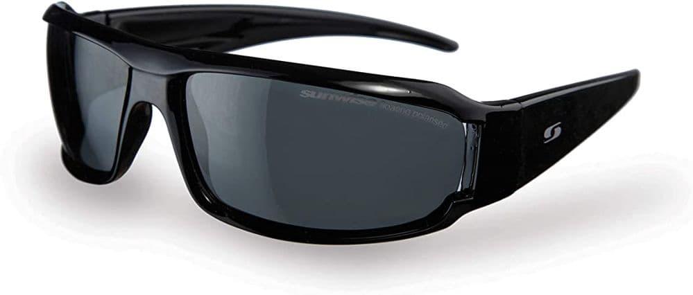 Sunwise Category 3 Polarised Sunglasses - Henley Black
