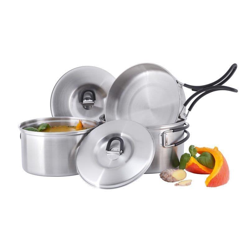 Tatonka Stainless Steel Regular Cook Set