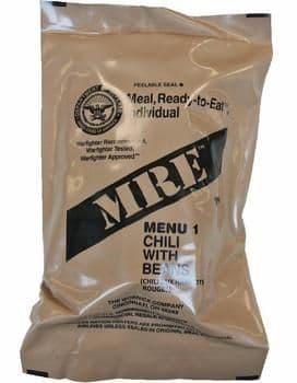 US Military MRE Genuine Ration Pack