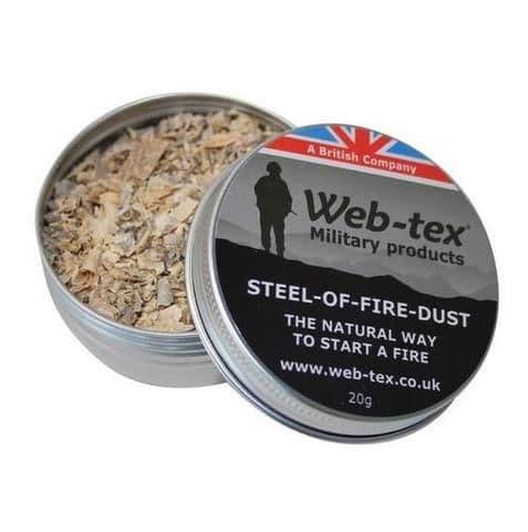 Web-Tex Steel of Fire Dust