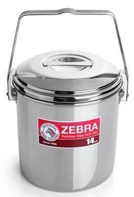 Zebra 14cm Loop Handle Billy Can Cooking Pot